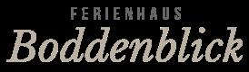 Ferienhaus Boddenblick Logo